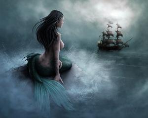 Mermaid-and-pirate-ship