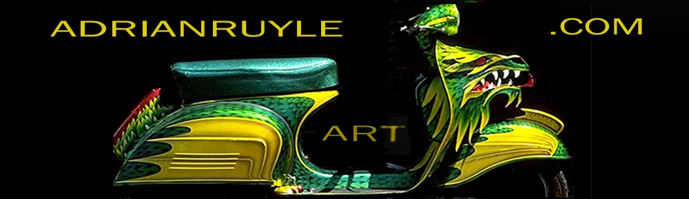 Unique art objects by Adrian Ruyle